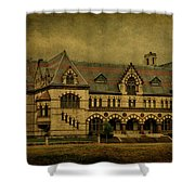 Old Post Office - Customs House Shower Curtain by Sandy Keeton