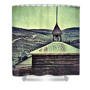 Old Schoolhouse Shower Curtain by Jill Battaglia