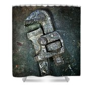 Old Spanner Shower Curtain by Carlos Caetano