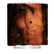 Old Story 1 Shower Curtain by Mark Ashkenazi