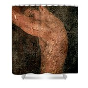 Old Story Shower Curtain by Mark Ashkenazi