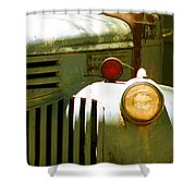 Old Truck Abstract Shower Curtain by Ben and Raisa Gertsberg