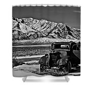 Old Truck Shower Curtain by Robert Bales
