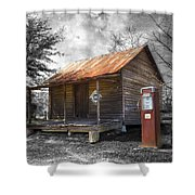Olden Days Shower Curtain by Debra and Dave Vanderlaan