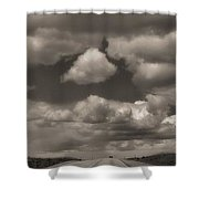 On The Road Again Shower Curtain by Dan Sproul