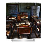 One Room School House Shower Curtain by Bob Christopher