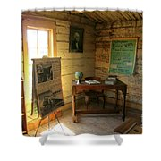 One Room School Shower Curtain by John Malone
