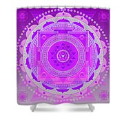 Oneness And Unity Shower Curtain by Sarah  Niebank
