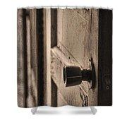 Open Doors Shower Curtain by Dan Sproul