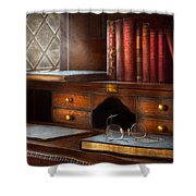 Optometrist - Glasses - Career paths  Shower Curtain by Mike Savad