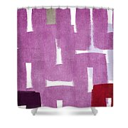 Orchids In The Window Shower Curtain by Linda Woods