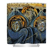 Order Of Cherubim Angels - Study No. 2 Shower Curtain by Steve Bogdanoff