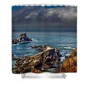 Oregon Coast Shower Curtain by Robert Bales