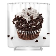 Oreo Cookie Cupcake Shower Curtain by Andee Design