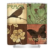 Organic Nature 1 Shower Curtain by Debbie DeWitt