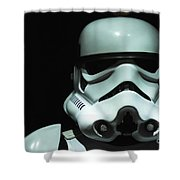 Original Stormtrooper Shower Curtain by Micah May