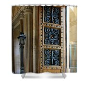 Ornate Door Shower Curtain by Andrew Fare