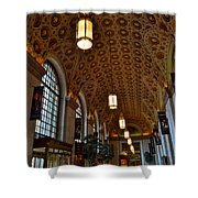 Ornate Entryway Shower Curtain by Frozen in Time Fine Art Photography