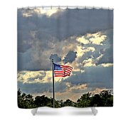 Our Country Shower Curtain by Dan Sproul