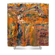 Paint Number 45 Shower Curtain by James W Johnson