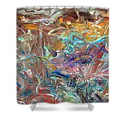 Paint number46 Shower Curtain by James W Johnson