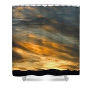 Panamint Sunset Shower Curtain by Joe Schofield