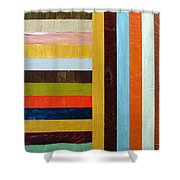 Panel Abstract l Shower Curtain by Michelle Calkins