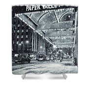 Paper Valley Shower Curtain by Joel Witmeyer