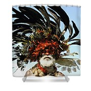 Papua New Guinea, Portrait Shower Curtain by Jeremy Hunter