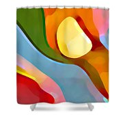 Paradise Found 4 Shower Curtain by Amy Vangsgard