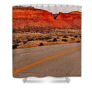 Parallel Lines Shower Curtain by Benjamin Yeager