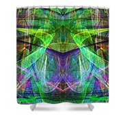 Parallel Universe Ap130511-22 Shower Curtain by Wingsdomain Art and Photography