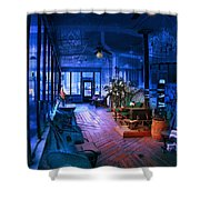 Paranormal Activity Shower Curtain by Gunter Nezhoda