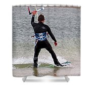 Parasurfer5 Shower Curtain by Rrrose Pix
