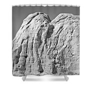 Paria Utah X Shower Curtain by Dave Gordon