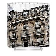 Paris Hotel Shower Curtain by Evie Carrier