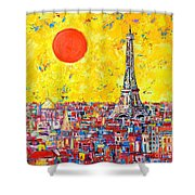 Paris In Sunlight Shower Curtain by Ana Maria Edulescu
