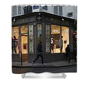 Parisian Evolution Shower Curtain by Randi Shenkman
