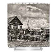 Parker Homestead Shower Curtain by Ken Smith
