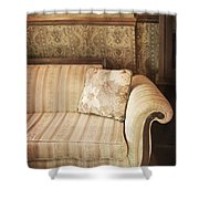 Parlor Seat Shower Curtain by Margie Hurwich