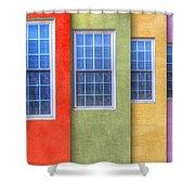 Pastel Shower Curtain by Paul Wear