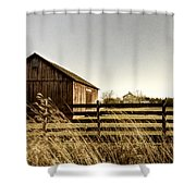 Pasture Shower Curtain by Margie Hurwich