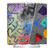 Pathway Shower Curtain by Shannan Peters