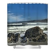 Patrick's Rocks Shower Curtain by Adam Jewell