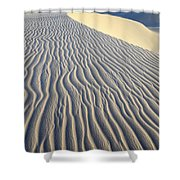Patterns In The Sand Brazil Shower Curtain by Bob Christopher