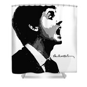 Paul Mccartney No.01 Shower Curtain by Unknow