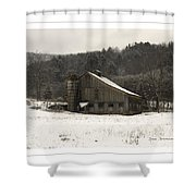Peace In The Valley Shower Curtain by John Stephens