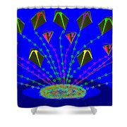 Peace Offering Shower Curtain by Cynthia Johnson