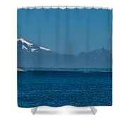 Peaceful Shower Curtain by Robert Bales