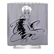 Pearl Shower Curtain by Giannelli